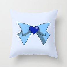 Super Sailor Mercury Throw Pillow