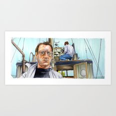 Jaws - We're Gonna Need a Bigger Boat Art Print