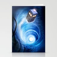 Stationery Cards featuring Doctor Who by Joe Roberts