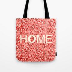 Home:家 Tote Bag
