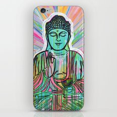 Psychedelic Buddha iPhone & iPod Skin