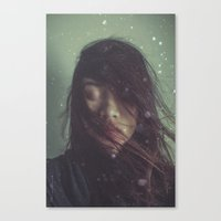Ghost in Photograph Canvas Print