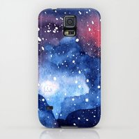 Galaxy S5 Cases featuring Journey Into Space by Chrystal Elizabeth