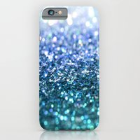 ocean glitter iPhone 6 Slim Case