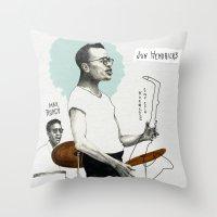 ANALOG Zine - Vocalese S… Throw Pillow