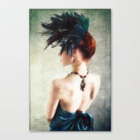 Madame Peacock II Canvas Print