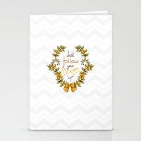 Flower laurel Stationery Cards