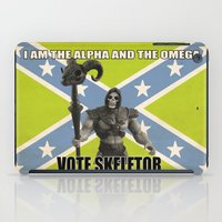 Vote Skeletor iPad Case