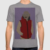 GOLLUM MODERN OUTFIT VERSION - The lord of the rings Mens Fitted Tee Athletic Grey SMALL
