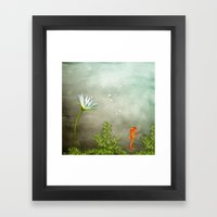 Ocean Deep II Framed Art Print