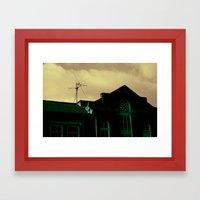 Surreal Sky Framed Art Print