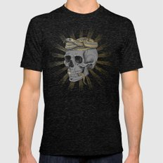 Stay Gold Mens Fitted Tee Tri-Black SMALL