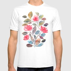 Wandering Mens Fitted Tee White SMALL