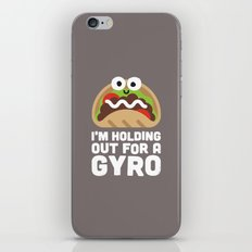 Tzatziki and Ye Shall Find iPhone & iPod Skin