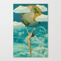 Xposed Collection -- Una… Canvas Print