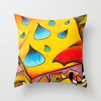 There Throw Pillow