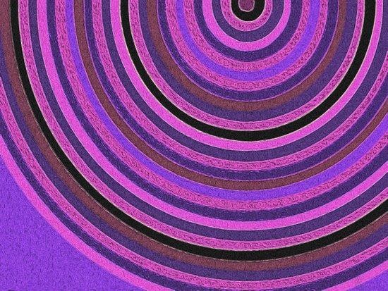 Rings, Pink Art Print