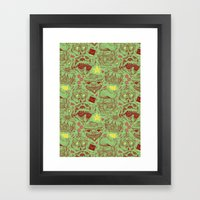 Have A Hipster Christmas… Framed Art Print