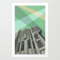 Robarts Library (Univers… Art Print