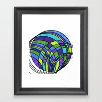 Circle Series #1 Framed Art Print