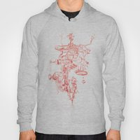 Abstract Lines, Linear P… Hoody