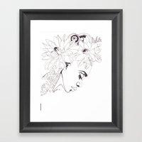 BELLisima FLora Framed Art Print