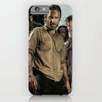 iPhone & iPod Case featuring The Walking Dead - The Crew by SRB Productions