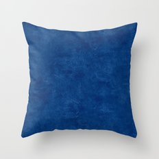 Cool Black Oil Pastel Color Accent Throw Pillow