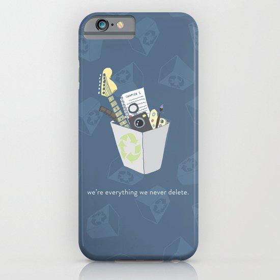 Never Delete iPhone & iPod Case