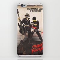 Mad Punk / A tribute to Daft Punk iPhone & iPod Skin