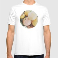 Les Citrouilles Mens Fitted Tee White SMALL