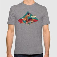Troy & Abed's Dope Adven… Mens Fitted Tee Tri-Grey SMALL