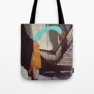 Tote Bag featuring RIPTIDE by Beth Hoeckel Collage…