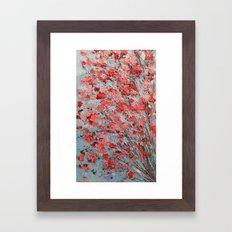 Pink Ume Framed Art Print