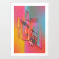 COLORFUX (everyday 11.18… Art Print