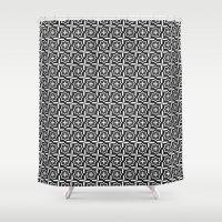 Cross Shower Curtain
