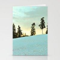 Snowscape 1 Stationery Cards