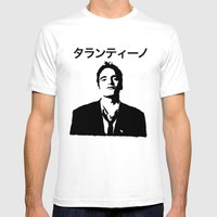 QUENTIN TARANTINO Mens Fitted Tee White SMALL