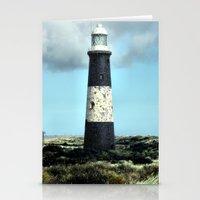 Spurn Point Lighthouse Stationery Cards