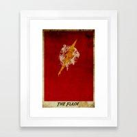 Speed Logo Framed Art Print