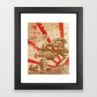 In Our Hearts Framed Art Print