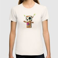 The TreeBorn Gang Womens Fitted Tee Natural SMALL