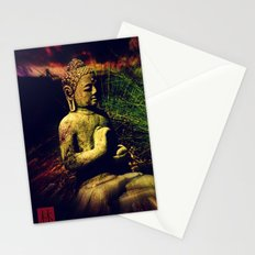 Buddha Sitting In Meditation Stationery Cards