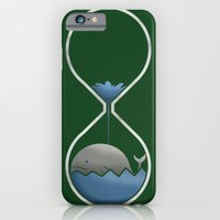 iPhone & iPod Case featuring whale hourglass by gazonula