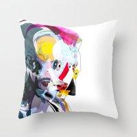 Travis02 Throw Pillow