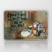 Home Is Where You Brew Y… Laptop & iPad Skin
