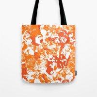 My orange butterflies Tote Bag