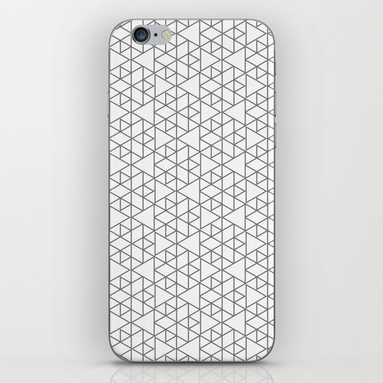 Karthuizer Grey & White Pattern iPhone & iPod Skin