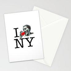 I Zombie Apocalypse New York Stationery Cards