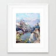 Untitled 20120323f (Land… Framed Art Print